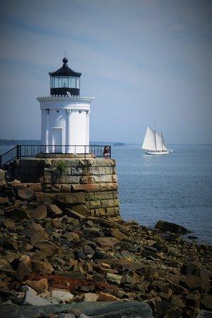 South Portland, ME : Low tide