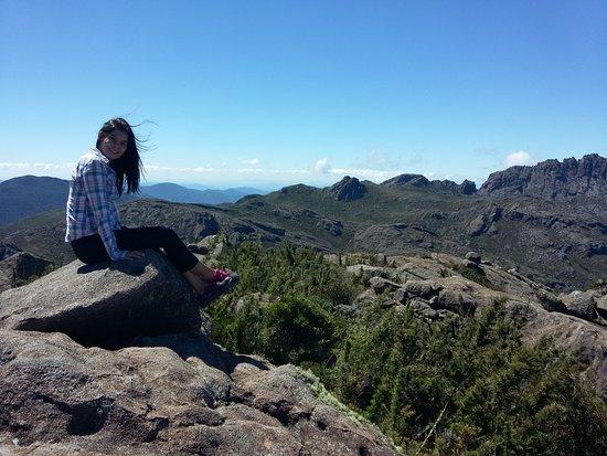 Itatiaia, RJ: Lá em cima, no pico.