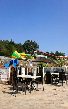 Biron, ฝรั่งเศส: Camping Le Moulinal