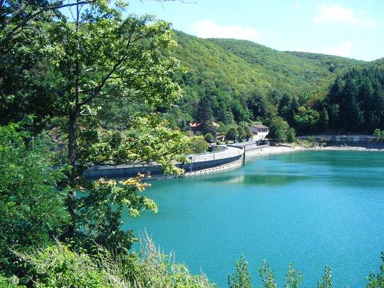 Эмилия-Романья, Италия: La strada sulla diga