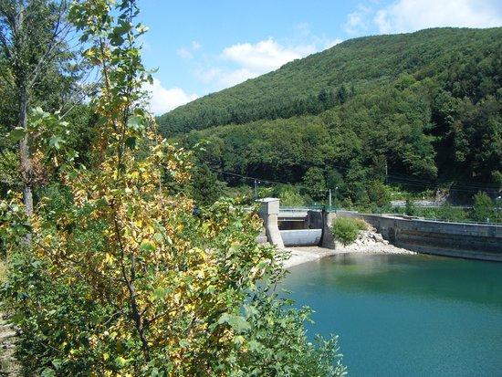 إميليا رومانيا, إيطاليا: Caditoio della diga del Brasimone