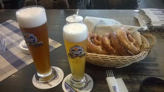 Weisses Bräuhaus: cervezas