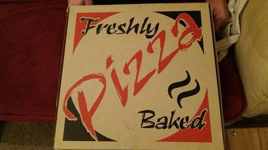 Redruth, UK: Chicken Pizza
