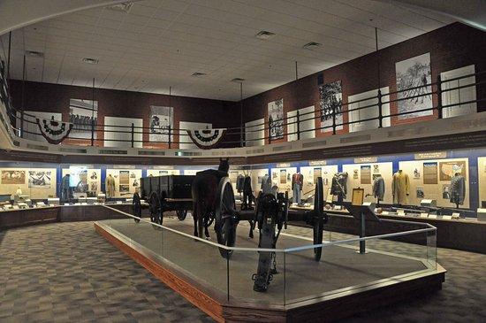 Missouri Civil War Museum: The main central room