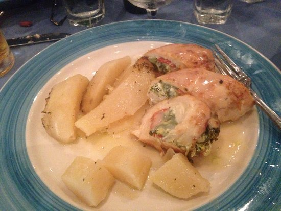 Monroe, NJ: Stuffed Chicken