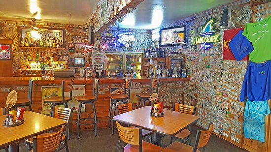 Lake Lure, Carolina del Norte: The Cozy Downstairs Bar