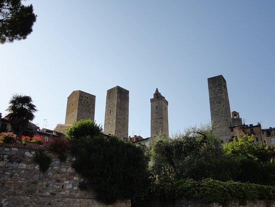 Fabio Apartments San Gimignano: panorama