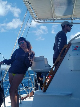 Gemini Charters : Having a blast!