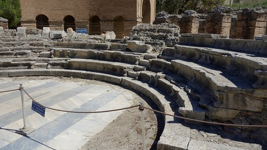 Heraklion Prefecture, Hellas: primo piano dell'odeon