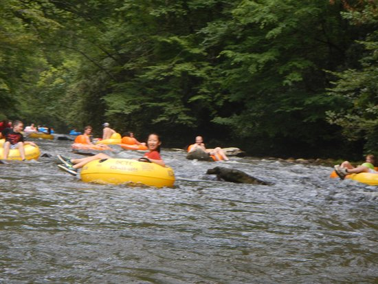 Deep Creek Tube Center: river