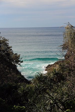 Point Lookout, Australia: Some of the views from the broadwalk