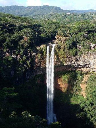 Flic en Flac: casscade de Chamarel