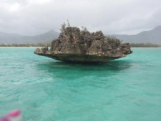 Flic En Flac : la roche Christal