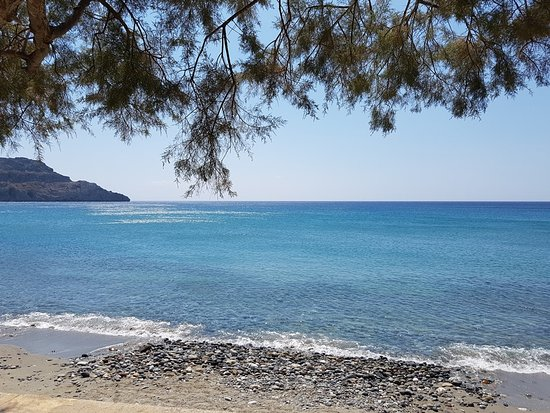 Lamon Hotel: The Lamon Snack bar is situated right by the Plakias beach.