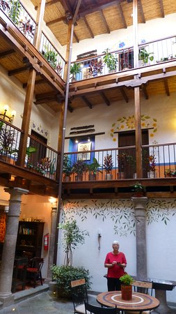La Casona de la Ronda Heritage Boutique Hotel: Formerly a home and hostel from 16th century