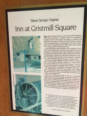 Inn at Gristmill Square: photo0.jpg