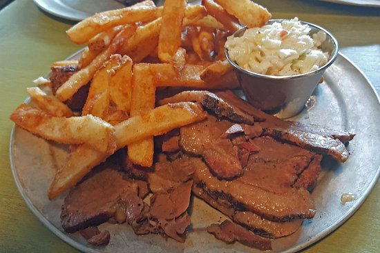 Saluda, NC: My Brisket with Traditional Sides