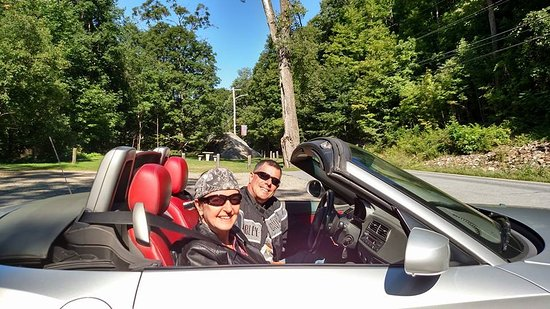 Bristol, VT: Touring in a BMW Z4