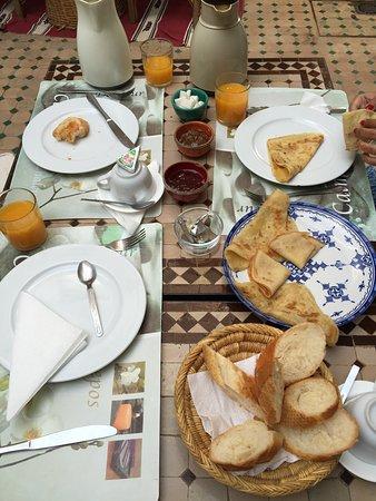 Riad Limouna: Amazing Breakfast