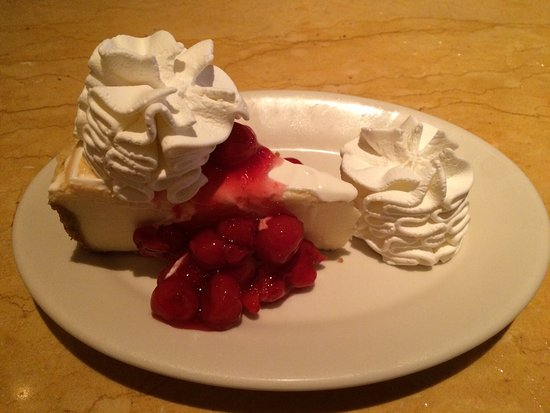 Edina, MN: Cheery cheesecake - delicious!