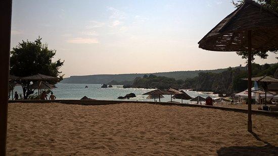 Rusalka, Bulgarie : The bigger beach, very nice