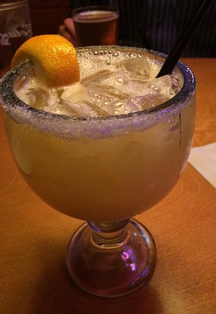 Texas Roadhouse : Jamaican Cowboy - rum with pineapple juice and something else..can't remember.  Sooooo good!!!