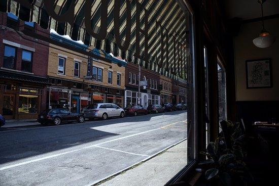 Great Barrington, MA: View of Railroad Street