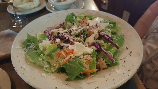 Porter, TX: Grilled Shrimp Salad