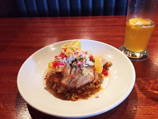 Springfield, VA: Dinner, Tilapia