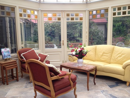 Leura, Australia: Conservatory Lounge
