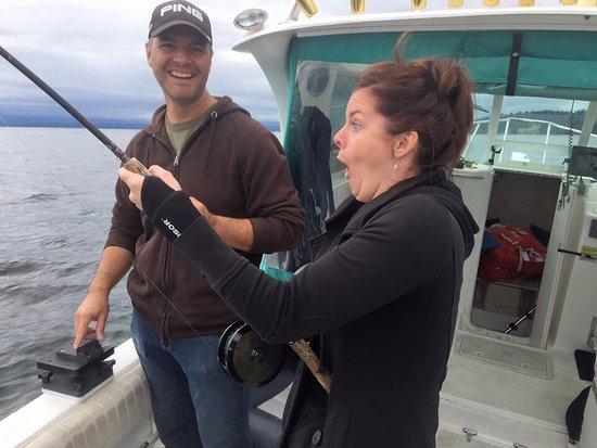 Comox, Canada : G & M Fishing Charters