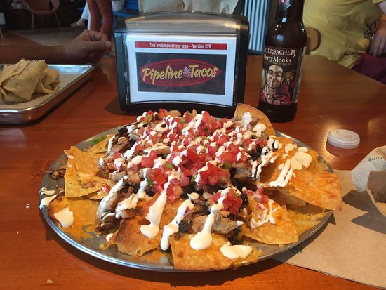 Wayne, Pensylwania: Nachos - huge and delicious