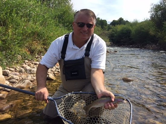 Rocky Mountain Recreation of Utah: One of a number of Trout caught then released