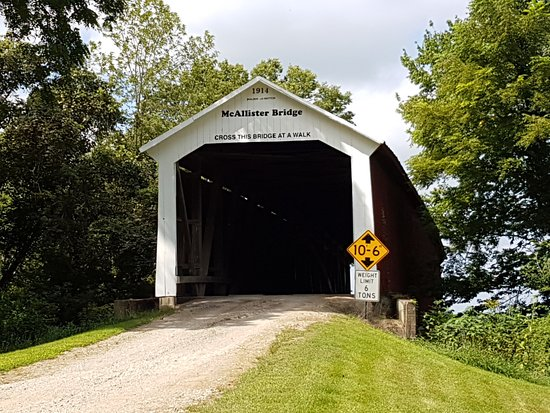 McAllister Covered Bridge