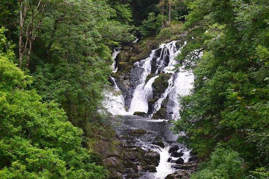 Betws-y-Coed, UK: Swallow Falls