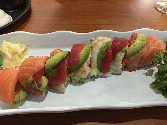 South Portland, ME : Rainbow Sushi