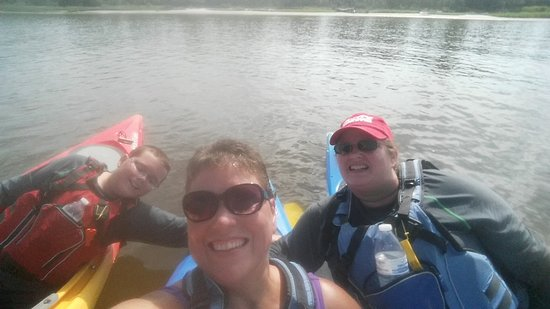 Paddle NC: Jon, Terry and Shannon for their kayaking adventures.. Had a blast!