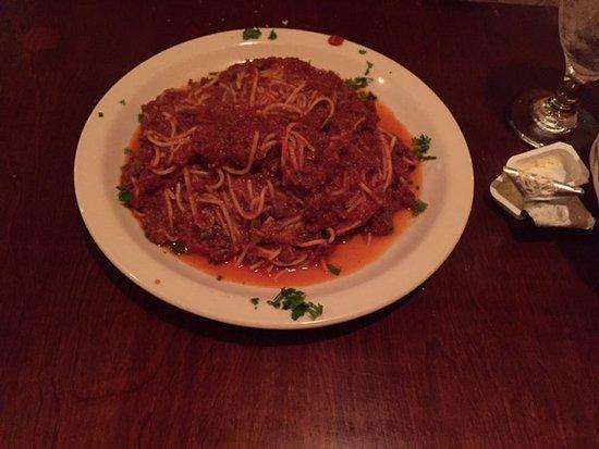 Bella Luna Ristorante Italiano: spaghetti