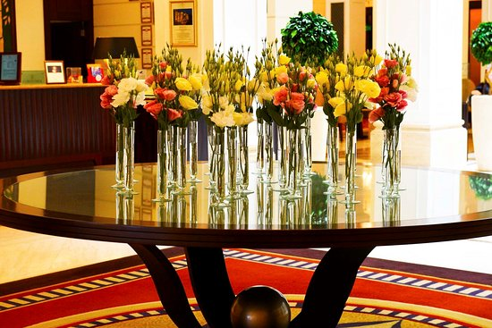 Hotel Lobby Flower Arrangement Picture Of Corinthia