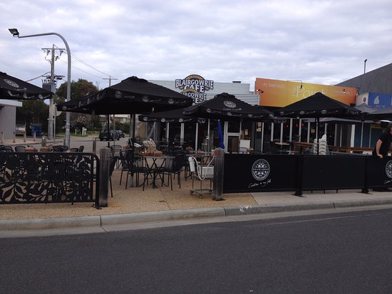 Blairgowrie, Austrália: Outdoor seating - great for summer