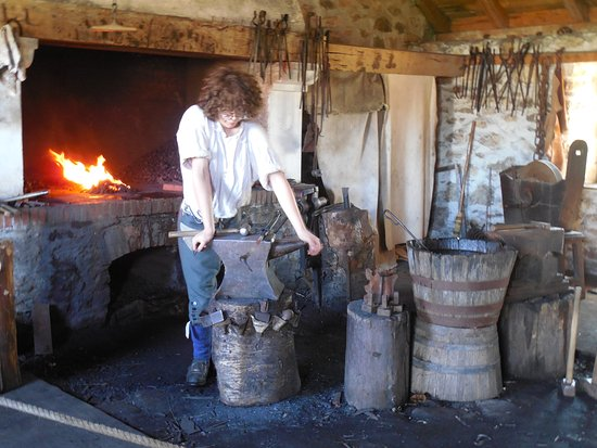 Louisbourg, كندا: Blacksmith shop
