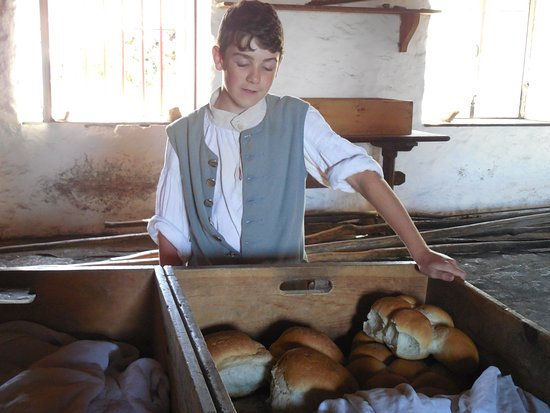 Louisbourg, Canadá: King's bakery
