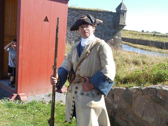 Louisbourg, Canada: Gate guard