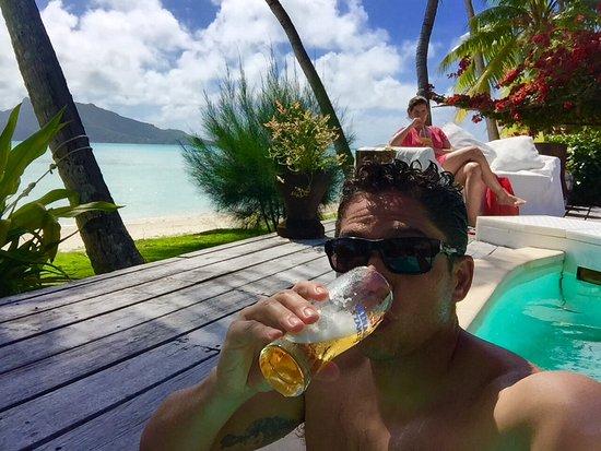 Eden Beach Hotel Bora Bora: Pool