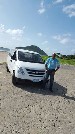 Vieux Fort, St. Lucia: Winson with the Maria Island in background