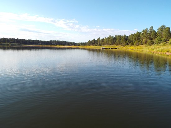 Fool Hollow Lake Recreation Area: A view from the lake trail