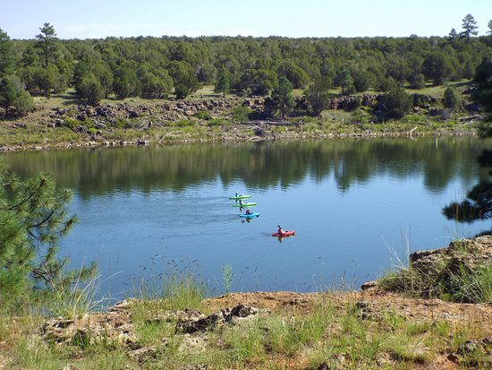 Fool Hollow Lake Recreation Area: A nice lake for kayaking, especially the northeast section. Bring your own or you can rent some