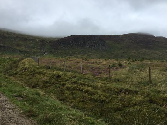Newtonmore, UK: Hike up the hill