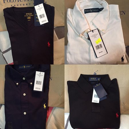Kulai, Malaysia: Spent a total of RM781.60 for these 4 Ralph Lauren goodies!