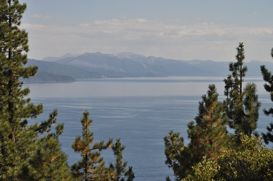 Crystal Bay, NV: View of south shore of Lake Tahoe